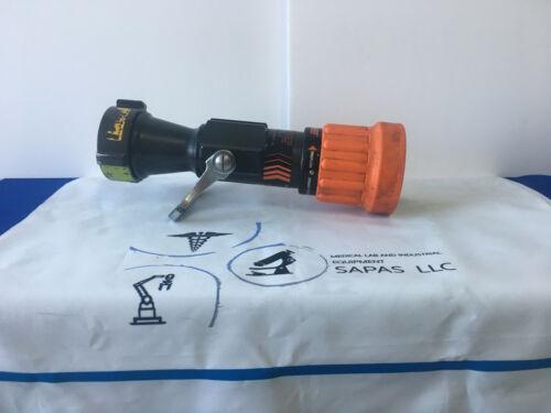 ELKHART BRASS 4000-26 Fire Hose Nozzle, 2-1/2 In., Orange