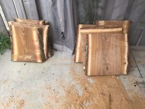 Black walnut planks