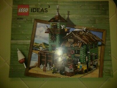 Lego Ideas 21310 Instruction Manual Book Old Fishing Store