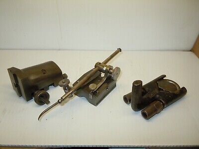 Vintage Machinist Metal Lathe Parts And Pieces Lot