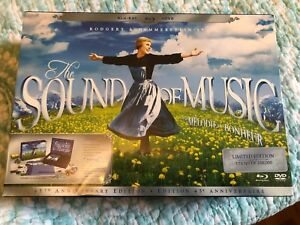 45th Anniversary Edition Sound of Music Blu-Ray DVD