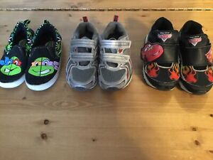 Lot  of 3 - Toddler boy size 8 shoes