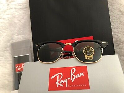 ray ban sunglasses | ClubMaster | Polarized | RB 3016-W0365| 51mm (Ray Ban Rb3016 W0365)