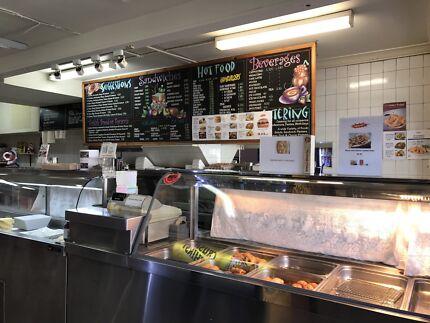 Takeaway lunch shop