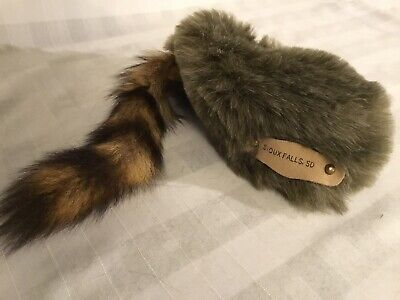 Baby Coon Skin Hat (Bloom Brothers Coonskin Coon Skin Hat Cap Sioux Falls SD Child Size)