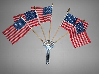 5 flag holder 5 American flags license plate topper flag topper USA flag topper
