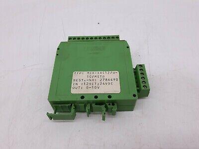 Phoenix MCR-DAC12/U-10/MSTB Computer Converter for sale  Shipping to India