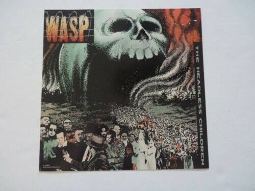 WASP W.A.S.P. Headless Children LP Record Photo Flat 12X12 Poster