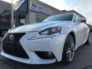 2014 Lexus IS 250 AWD/CAMERA/COOL & HEAT SEATS/SUNROOF/CERTIFIED