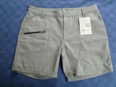 Womens Icebreaker Terra merino grey shorts W32 UK 16