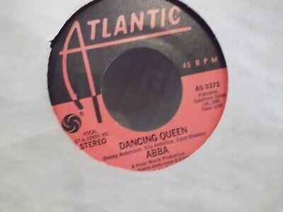 45 %  ABBA DANCING QUEEN / THATS ME ON ATLANTIC RECORDS