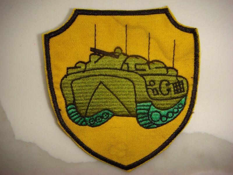 USMC AMPHIBIOUS ARMORED TANK, VIETNAM WAR PATCH