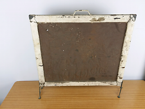 ANTIQUE EMBOSSED WESTERN METAL FIREPLACE COVER Alexandria Inner Sydney Preview