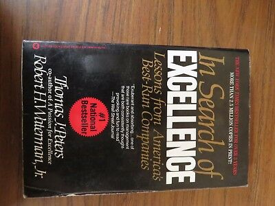 +In Search of Excellence: Lessons from America's Best-Run Companies by Robert (Best Managed Companies In America)
