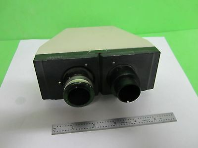 Microscope Part Olympus Japan Binocular Head Optics As Is Bin64-15