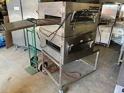 Lincoln Impinger 1116 Double Deck Stack Natural Gas Conveyor Pizza Ovens