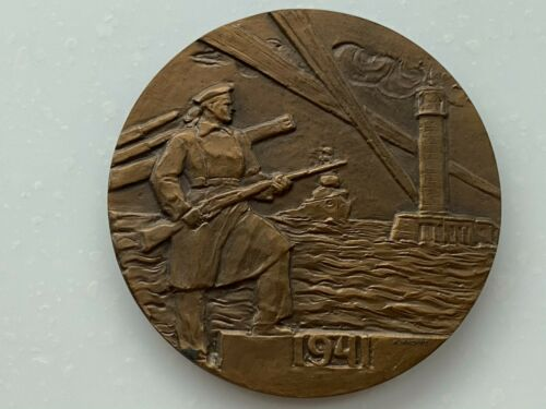 Table medal, USSR, city hero Odesa