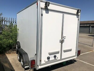 Twin Axel 2014 Braked 3500KG Box Trailer, Please Read Full Description