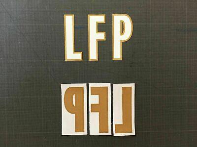 CUSTOM KAMARA LFP LIGUE 1 FLOCAGE TRANSFERT MONBLASON ALPHABET (WHITE/GOLD)