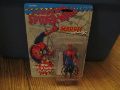 Spider Man Shooting Webs (Marvel Superheroes Web Shooting Spider-man MINT ON)