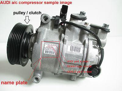 Z /& E compressore d aria condizionata di puleggia di frizione magnetico per AU di A4/A6/A8/per den SO 6seu14//°C