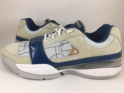 fc4f281ddf48 ADIDAS TS LIGHTSWITCH GIL GILBERT ARENAS 2007 GREY BLUE WHITE GOLD 070308 13