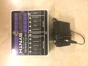 Electro-Harmonix Micro Synthesizer XO Analog Guitar Microsynth Woollahra Eastern Suburbs Preview