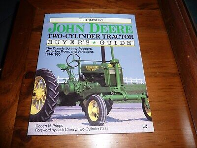 John Deere Two-Cylinder tractor buyers guide 1914-1960 Used Book Great Pictures