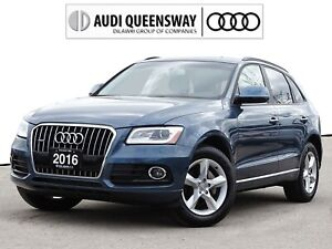 2016 Audi Q5 2.0T Komfort|One Owner|Audi Certified|Leather