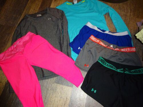huge LOT ~ women Under Armour ~ athletic training shorts top shirt pant MEDIUM