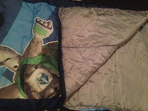 Buzz Lightyear sleeping bag for young child London Ontario image 2