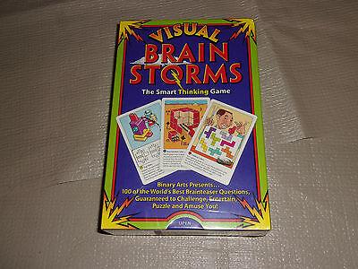 VISUAL BRAIN STORMS - THE SMART THINKING - Smart Brain Games