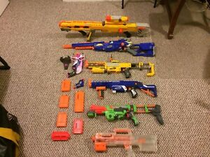 Great Condition Nerf Guns