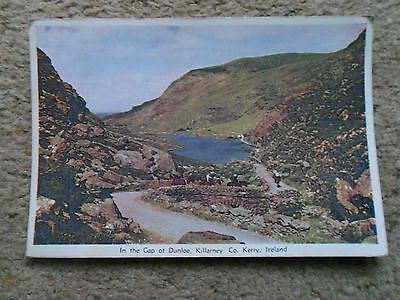 POSTCARD.CARDALL.IN THE GAP OF DUNLOE KILLARNEY CO.KERRY.POSTED  3.7.1963.