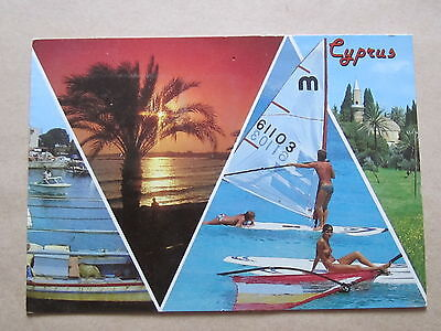 Cyprus 1980's Postcard