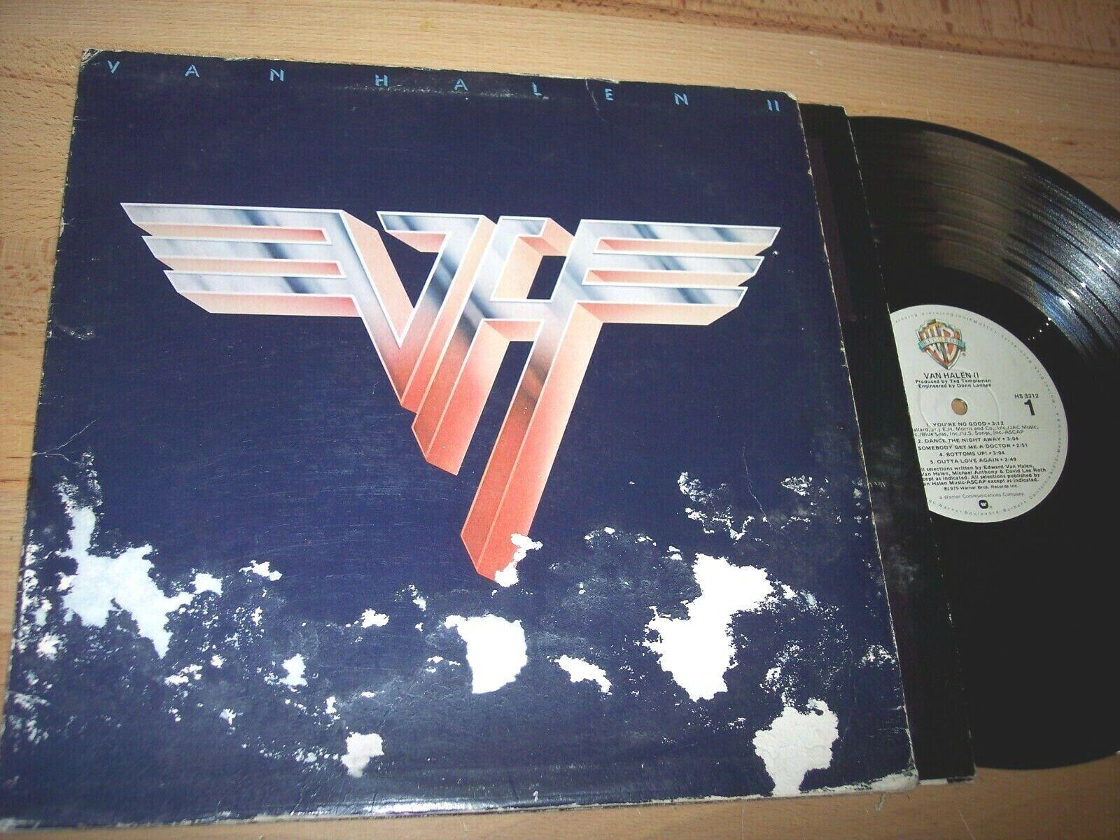 VG 1979 Van Halen II LP Album - $2.99