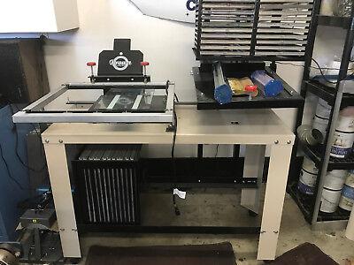 Brown Mfg. Screen Printing Slider Numbering System.