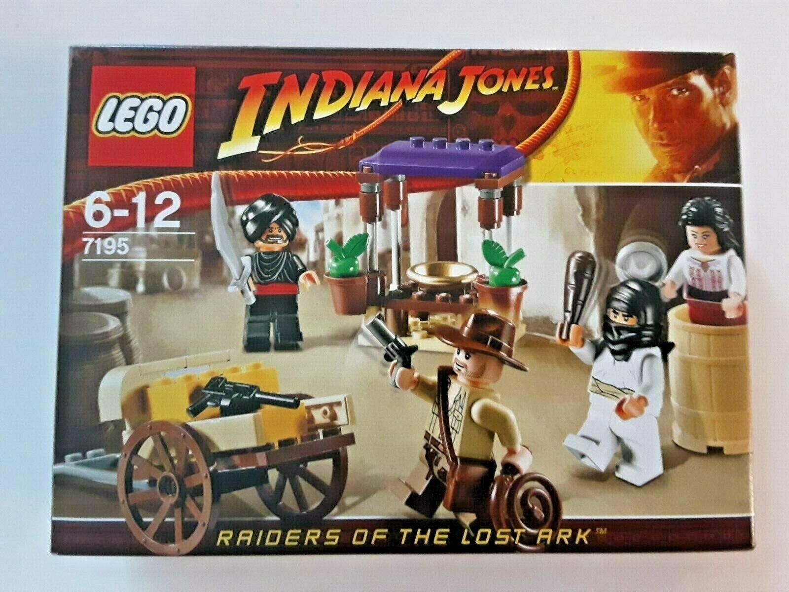 LEGO INDIANA JONES 7195 HINTERHALT IN KAIRO NEU OVP UNGEÖFFNET SELTEN EOL 2009