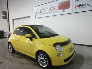 FIAT 500C **CONVERTIBLE**MANUELLE**MAGS**CRUISE**