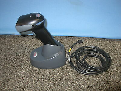 New Honeywell Xenon 1902 Usb Barcode Scanner And Charging Base Ccb01-010bt-07n