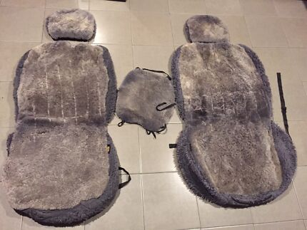 Sheepskin car seat covers 100 series Landcruiser Burpengary Caboolture Area Preview