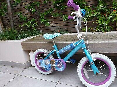 2 Disney Frozen Bike 14 inch Wheel (£60 for 2 £35  for 1)