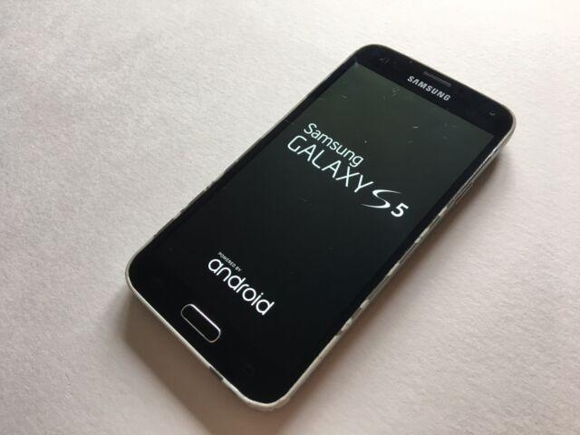 USED Samsung Galaxy S5 SM-G900F - 16GB - Electric Blue (EE) Smartphone