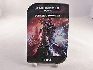 Warhammer 40K Eldar Psychic Powers Cards Pack (Sealed)