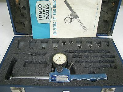 Hemco 100 Series O Ring Gage .0005 .247 W Tips Shallow Diameter Fm18