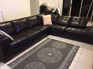Large leather couch for sale Bulimba Brisbane South East Preview
