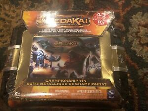Brand New Redakai Conquer The Kairu Championship Set 43 X Drives & KY Card
