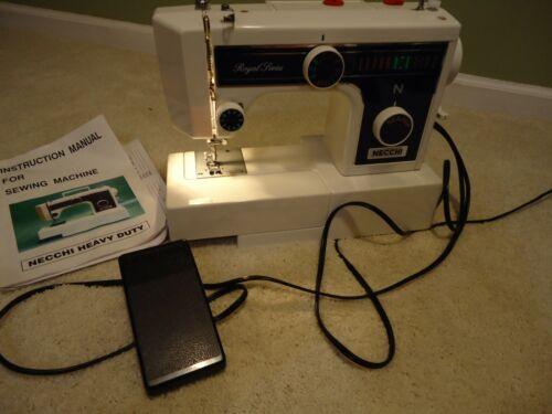 NECCHI Royal Series 3205FA Heavy Duty Sewing Machine, Foot Controller