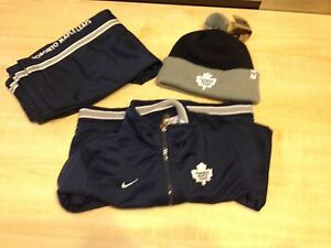 24 mth Toronto Maple Leafs Nike suit and new hat