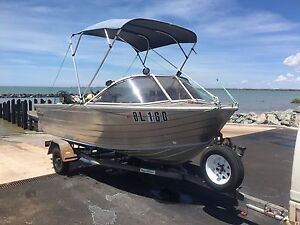 4.55 metre Stacer Seahawk with 30hp Honda 4-stroke and Dunbier trailer Baynton Roebourne Area Preview